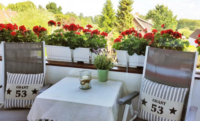 Apartment Backbord - Balkon