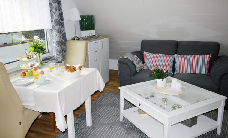 Appartement Backbord - Wohnzimmer