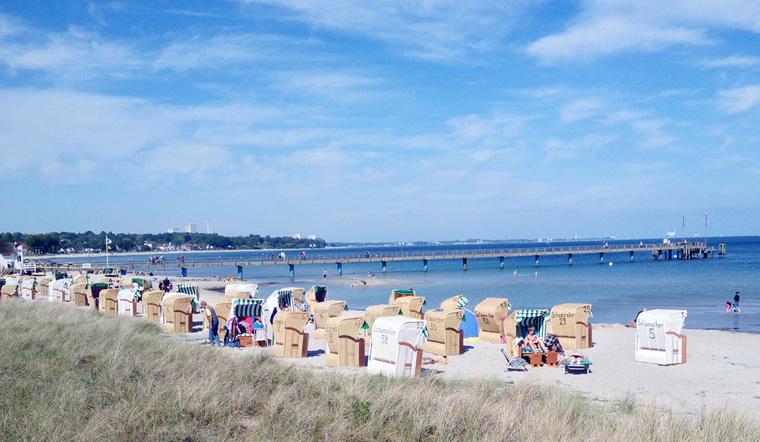 Strand in Haffkrug
