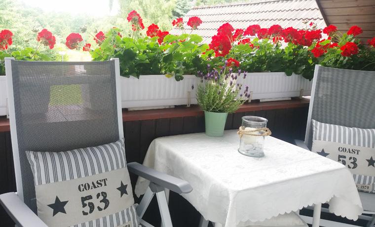 Apartement Steuerbord - Balkon