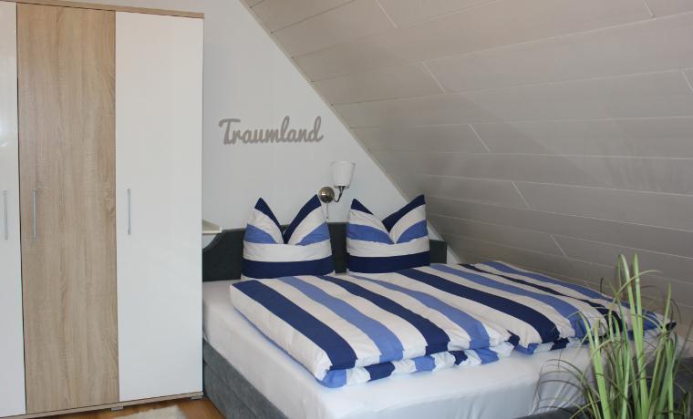 Appartement Steuerbord - Bett