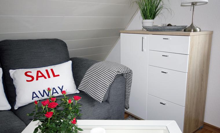 Apartment Steuerbord - Wohnzimmer