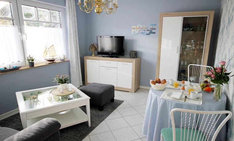 Suite Kapitän - Wohnzimmer
