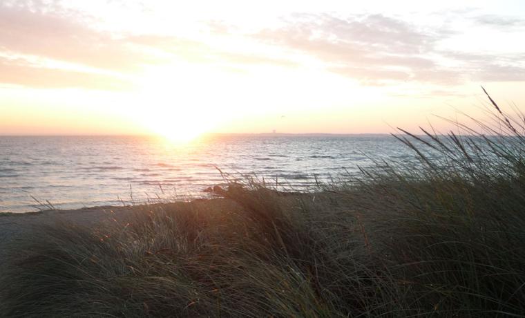 Sonnenaufgang in Haffkrug