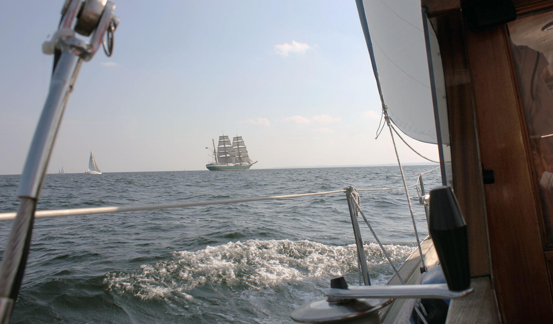 Auf dem Meer